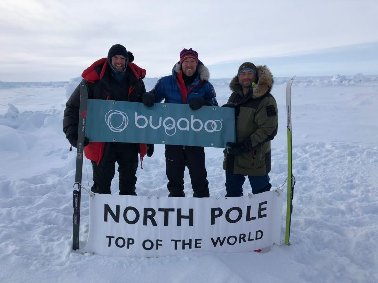 Bugaboo helped us achieve a first: the first Bugaboo Fox to reach the North Pole