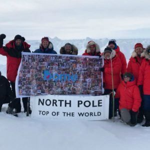 Flag of Hope at North Pole 700x500