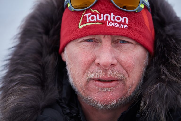 Legendary explorer Alan Chambers MBE led Team Borne on their perilous journey © Jake Turney, Will Douglas
