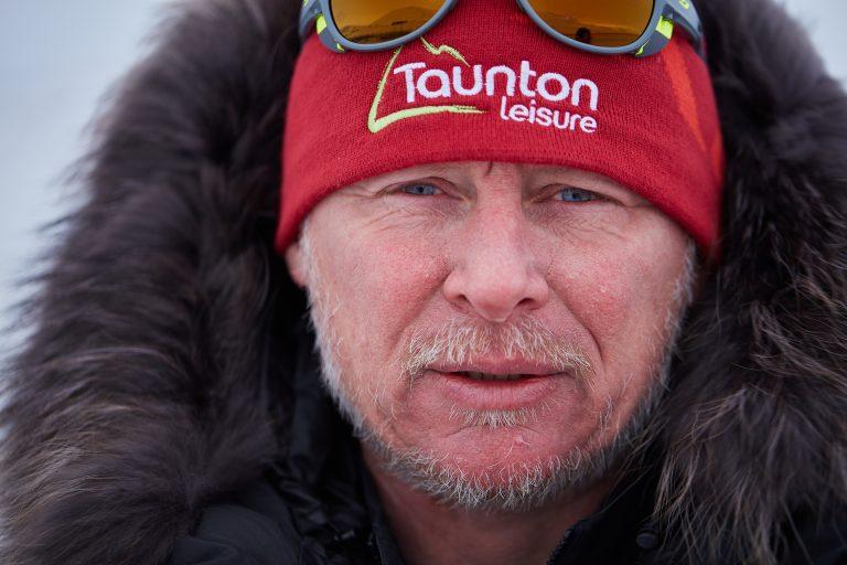 Legendary explorer Alan Chambers MBE led Team Borne on their perilous journey © Jake Turney, Will Douglas