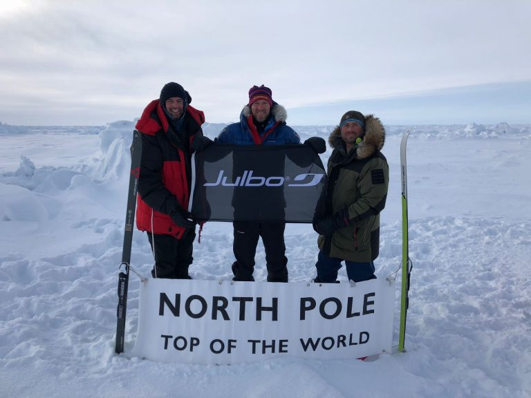 Thank you to Julbo for the much needed eye protection at the North Pole