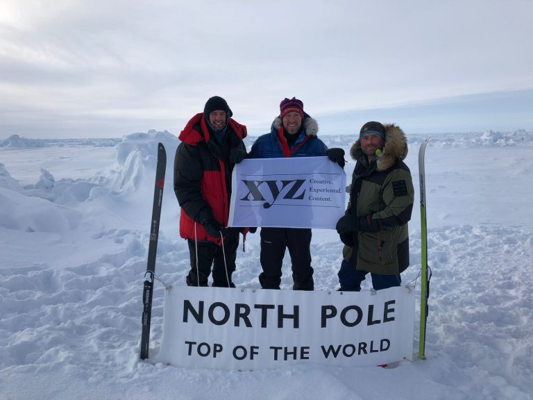 Thank you to XYZ for helping us launch the Borne Arctic Trek and