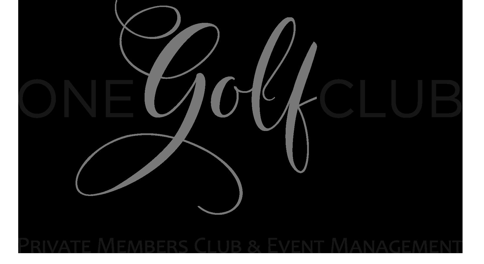 One Golf Club Logo - CONFIRMED