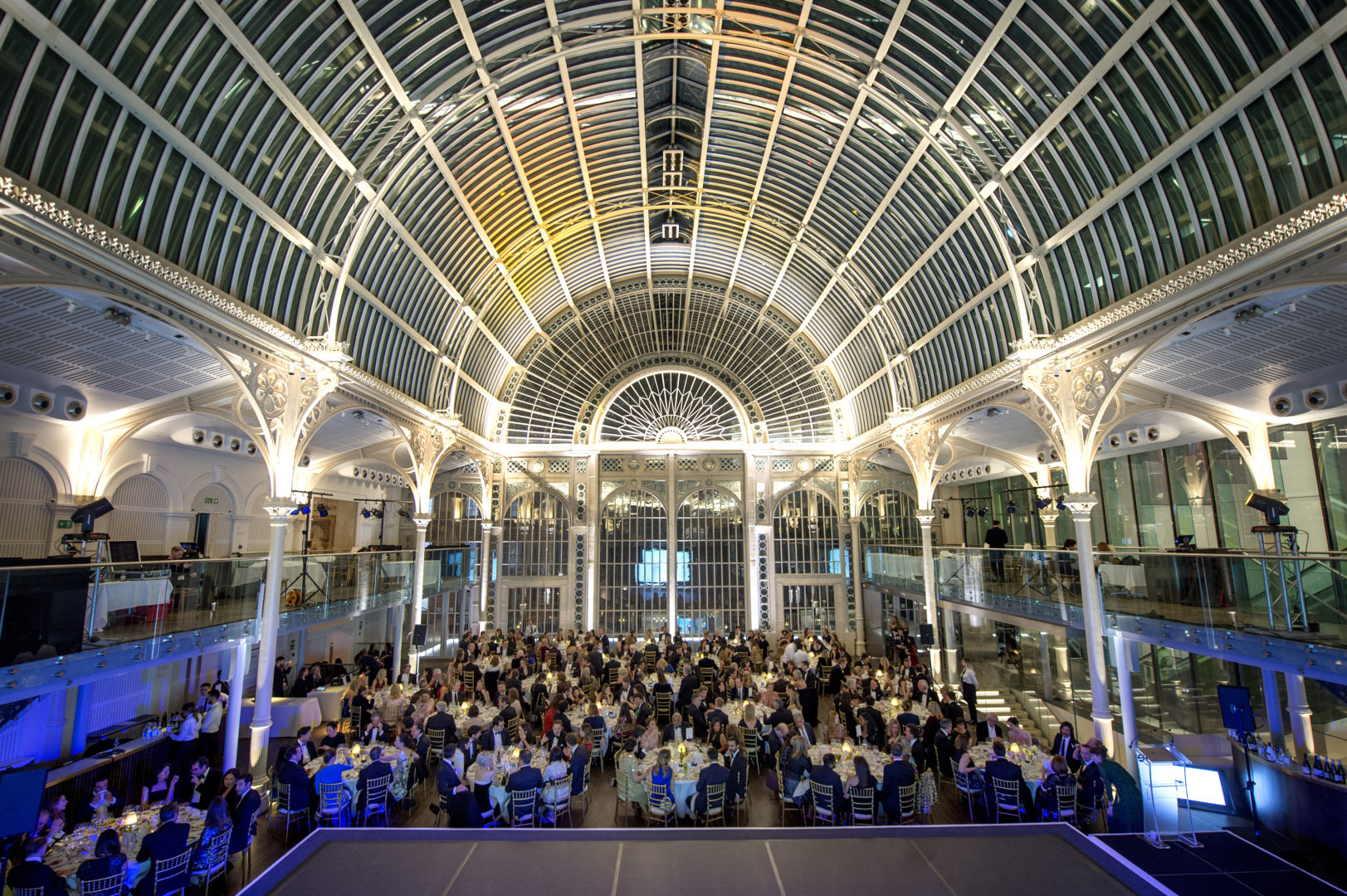 The newly revamped Paul Hamlyn Hall at the Royal Opera House