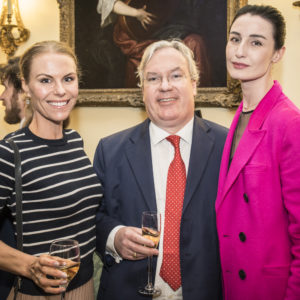 Erin O'Connor represented Borne at the ICAP Charity Day 2015