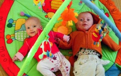 """One pregnancy, two babies"" – by Fiona Mylchreest"