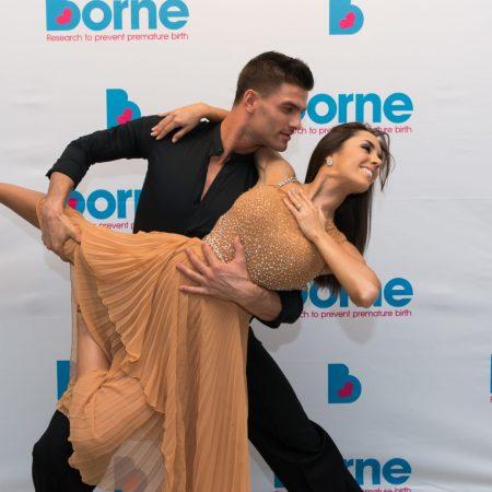 Aljaz Skorjanec and Janette Manrara at Borne to Dance 2017