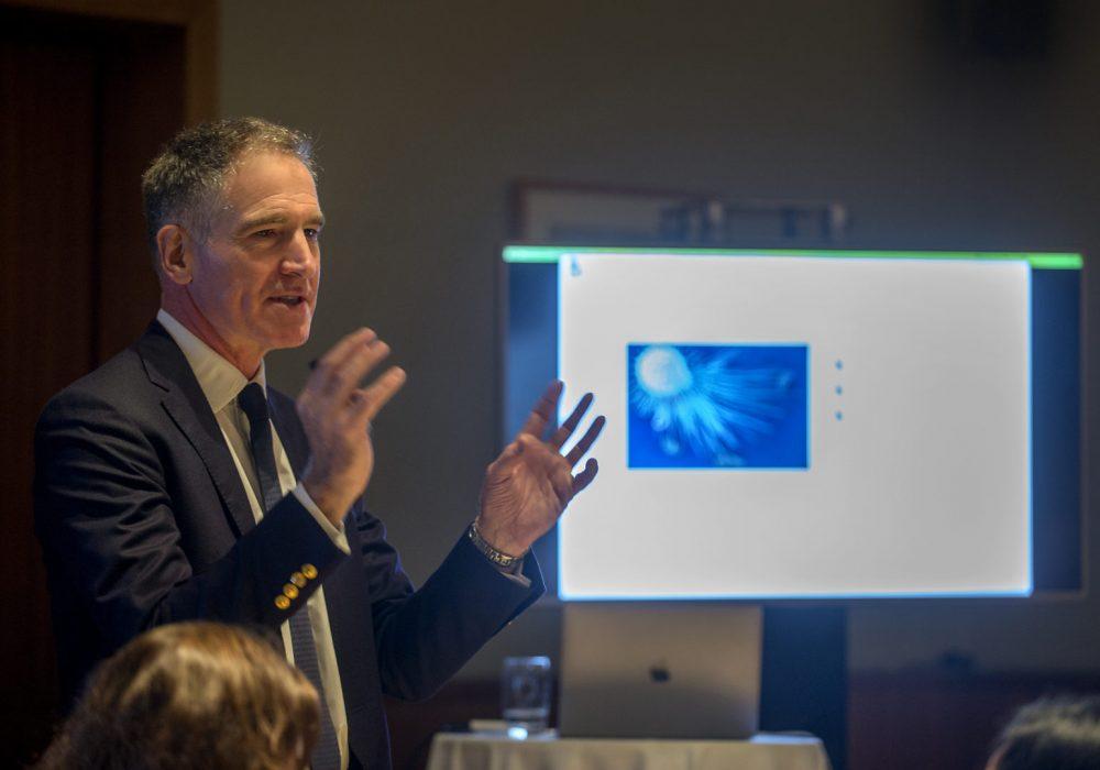 Borne Founder and Chief Scientific Officer, Professor Mark Johnson