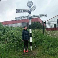 Fran Robinson on last day of Hadrian's Wall Challenge-crop