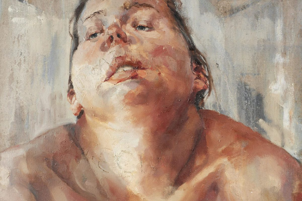 Jenny Saville_Self Portrait_1991