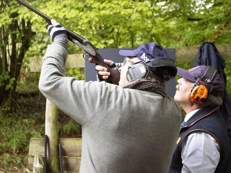 Moose shooting stand 03 - crop