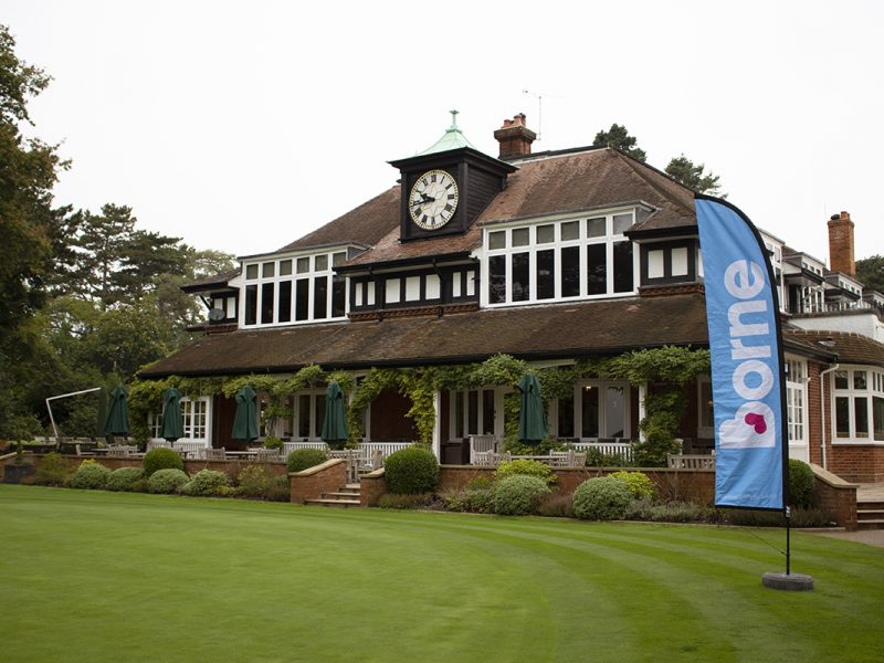 Sunningdale clubhouse with Borne banner 03-medium