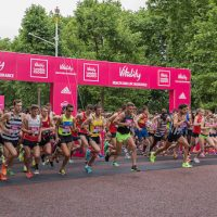 Vitality London 2017 race
