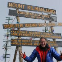 Will Greenwood at Kilimanjaro